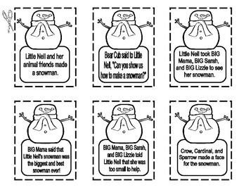 The Biggest, Best Snowman  --  Story Fun!