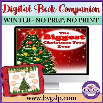 The Biggest Christmas Tree Ever - Literacy and Language Comprehension Unit