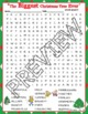 The Biggest Christmas Tree Ever Activities Kroll Crossword Puzzle & Word Search