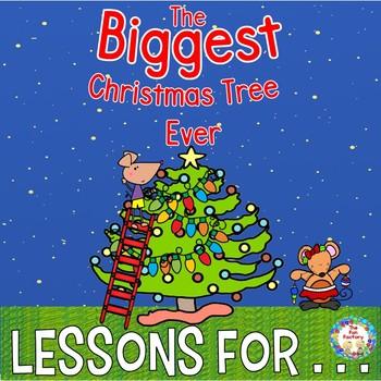 Book Companion The Biggest Christmas Tree Ever  Grades K 1