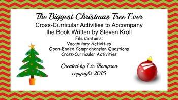 The Biggest Christmas Tree Ever Mini Unit