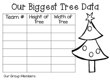 The Biggest Christmas Tree Ever: Picture Book Engineering - STEM Activity