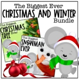 The Biggest Christmas Tree Ever and Snowman Ever Book Companion Bundle