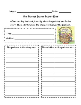 The Biggest Easter Basket Ever: Problem and Solution