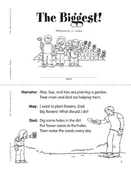 The Biggest! (Leveled Readers' Theater, Grade 1)