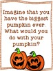 The Biggest Pumpkin Ever Fall Writing Freebie