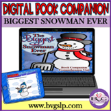 The Biggest Snowman Ever Language & Literacy Comprehension - Teletherapy