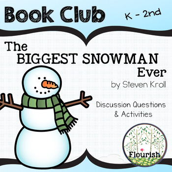 The Biggest Snowman Ever by Steven Kroll : Book Club K - 2nd