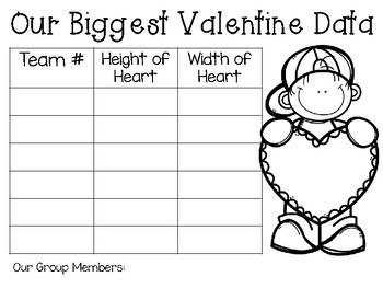 The Biggest Valentine Ever: Picture Book Engineering Challenge ~ STEM Activity!