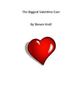 The Biggest Valentine Ever - QR Code Scavenger Hunt - Valentine's Day