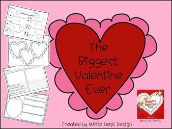 The Biggest Valentine Ever! {Response Activities}