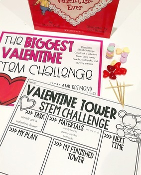 The Biggest Valentine Ever Stations and Activities