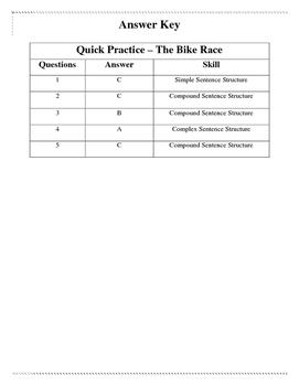 The Bike Race - Quick Practice