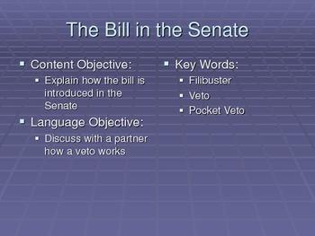 The Bill in the Senate