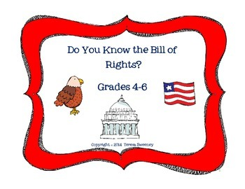 The Bill of Rights Activity