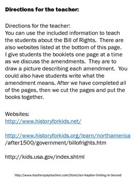 The Bill of Rights Booklet