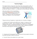 The Bill of Rights (Simplified)