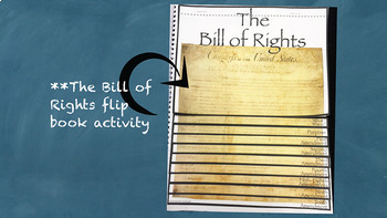 The Bill of Rights and New Government Interactive Notebook