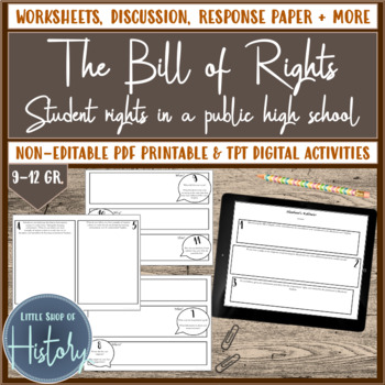 The Bill of Rights vs. Student Rights on School Campuses
