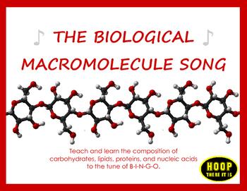 The Biological Macromolecule Song