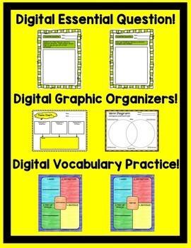 The Birchbark House Journeys 5th Grade Unit 5 Google Drive Resource
