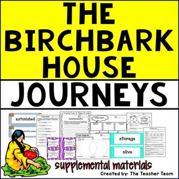 The Birchbark House Journeys 5th Grade Unit 5 Lesson 22 Activities & Printables