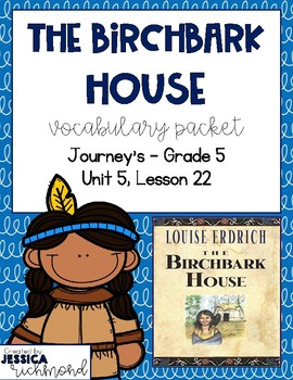 The Birchbark House - Vocabulary Packet