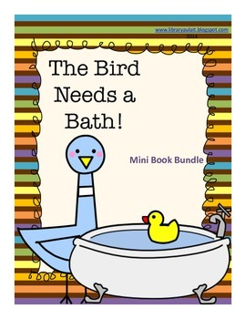 The Pigeon Needs a Bath Mini-book bundle
