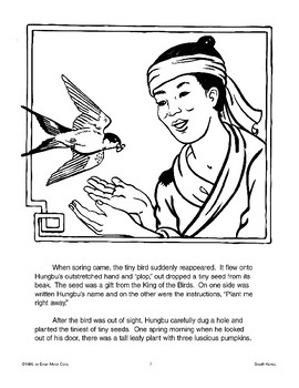 The Bird with the Broken Leg: A South Korean Folktale