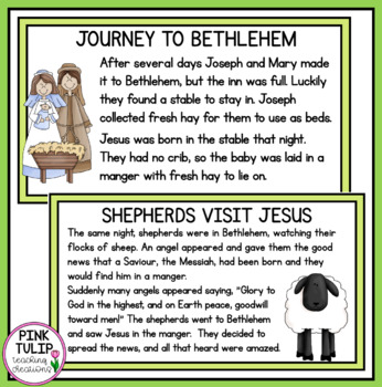 The Birth of Jesus, Lesson and Story