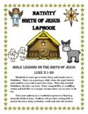 The Birth of Jesus (Nativity) Lapbook