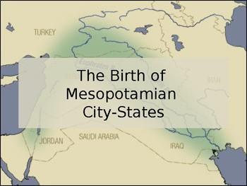 The Birth of Mesopotamian City States