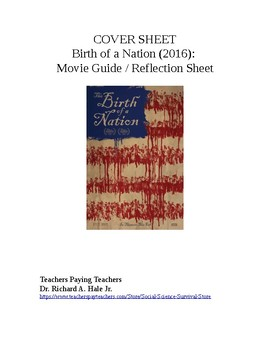 The Birth of a Nation Movie Guide