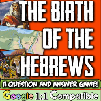 Hebrews & Their Origins:  Students learn about the Israeli