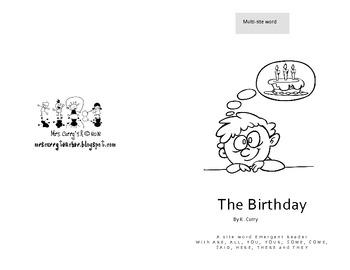 The Birthday Easy Reader