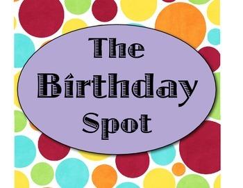 The Birthday Spot