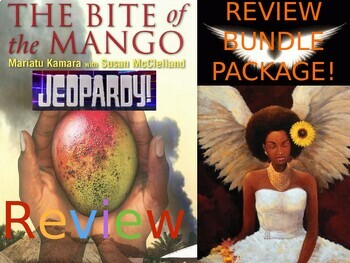 The Bite of the Mango BUNDLE REVIEW ACTIVITIES