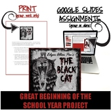 Black Cat (Google Slides Interactive Unit)