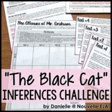 The Black Cat by Edgar Allan Poe Inferences Challenge - Pre-Reading Simulation