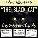 The Black Cat by Edgar Allan Poe Discussion Task Cards