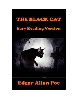 The Black Cat by Edgar Allan Poe - Easy Reading Version Plus Reading Quiz