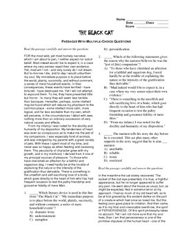 the black cat editable ap style passage test essay prompts   the black cat editable ap style passage test essay prompts sample essay