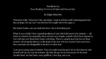 The Black Cat by Edgar Allan Poe PowerPoint