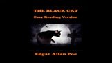 The Black Cat by Edgar Allan Poe Easy Reading PowerPoint