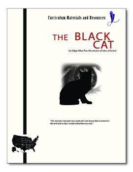 """The Black Cat"" COMPLETE UNIT EDITABLE Activities, Tests,"