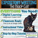 The Black Cat by Edgar Allan Poe - Textual Evidence Analysis Expository Writing