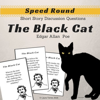The Black Cat by Poe Speed Round Short Story Discussion Questions