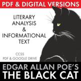Black Cat, Edgar Allan Poe short story + non-fiction & multimedia, CCSS