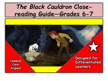 The Black Cauldron Close-reading Guide—Grades 6-7
