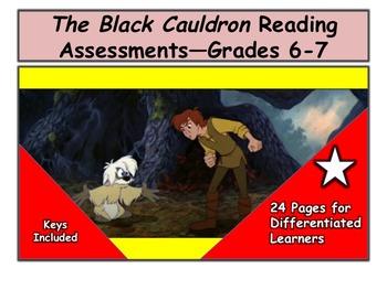 The Black Cauldron Reading Assessments—Grades 6-7